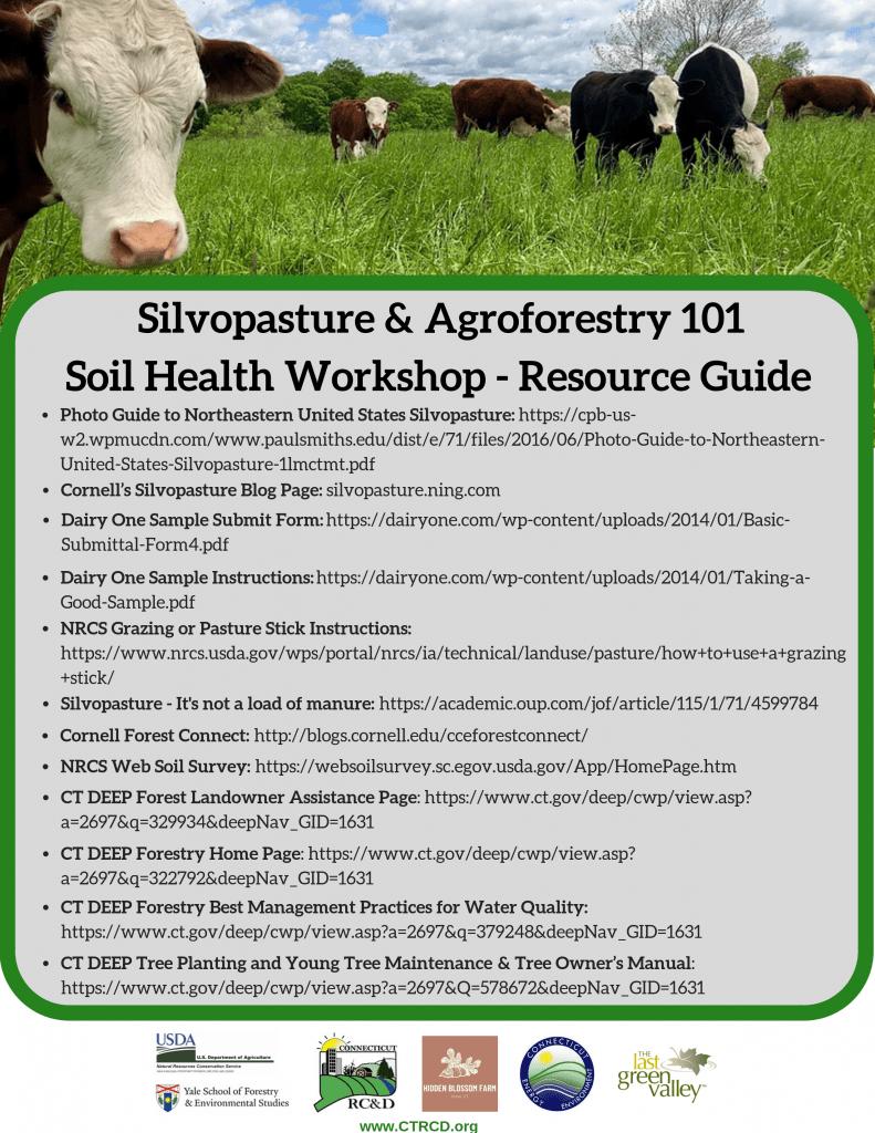 Silvopasture & Agroforestry 101 Handout