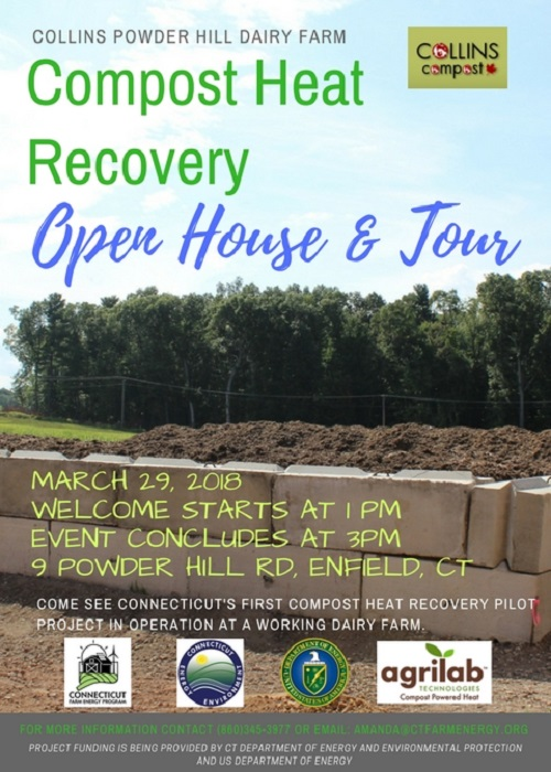 Compost Heat Recovery Open House