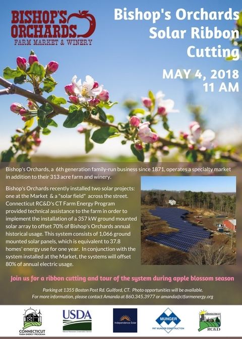 Bishop's Ribbon Cutting Flyer